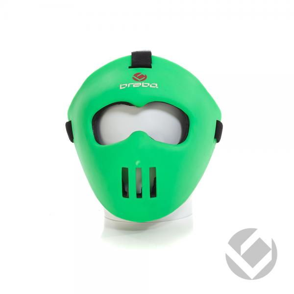 10366BRABO_CORNER_FACE_MASK_JUNIOR_GREEN