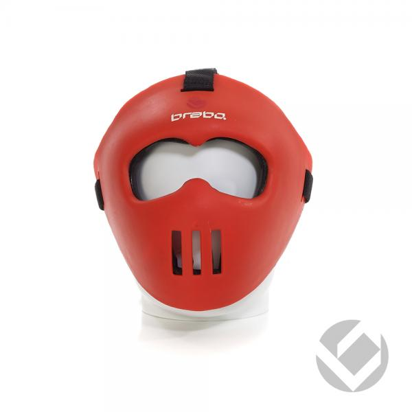 10370BRABO_CORNER_FACE_MASK_JUNIOR_RED