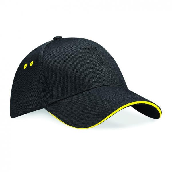 23436ULTIMATE_CAP_WITH_SANDWICH_PEAK_BLK_YEL