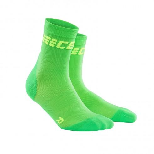 422316_CEP_DYNAMIC___ULTRALIGHT_SHORT_SOCKS_COMPRESSION_VIPER_GREEN_MEN