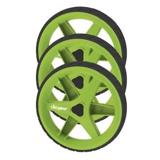 CLICGEAR_WHEEL_SET_3_STUKS_GREEN